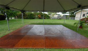 Miami Dance Floor Rental